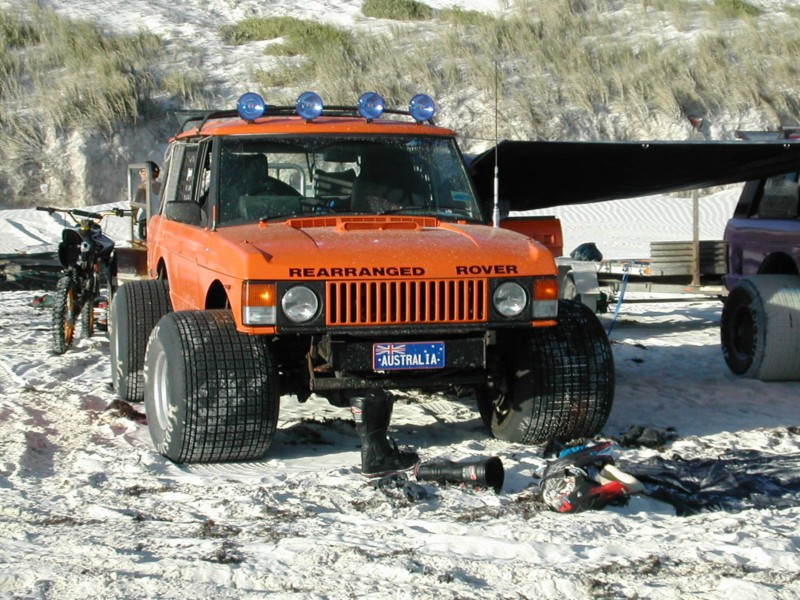 Range Rover modifications