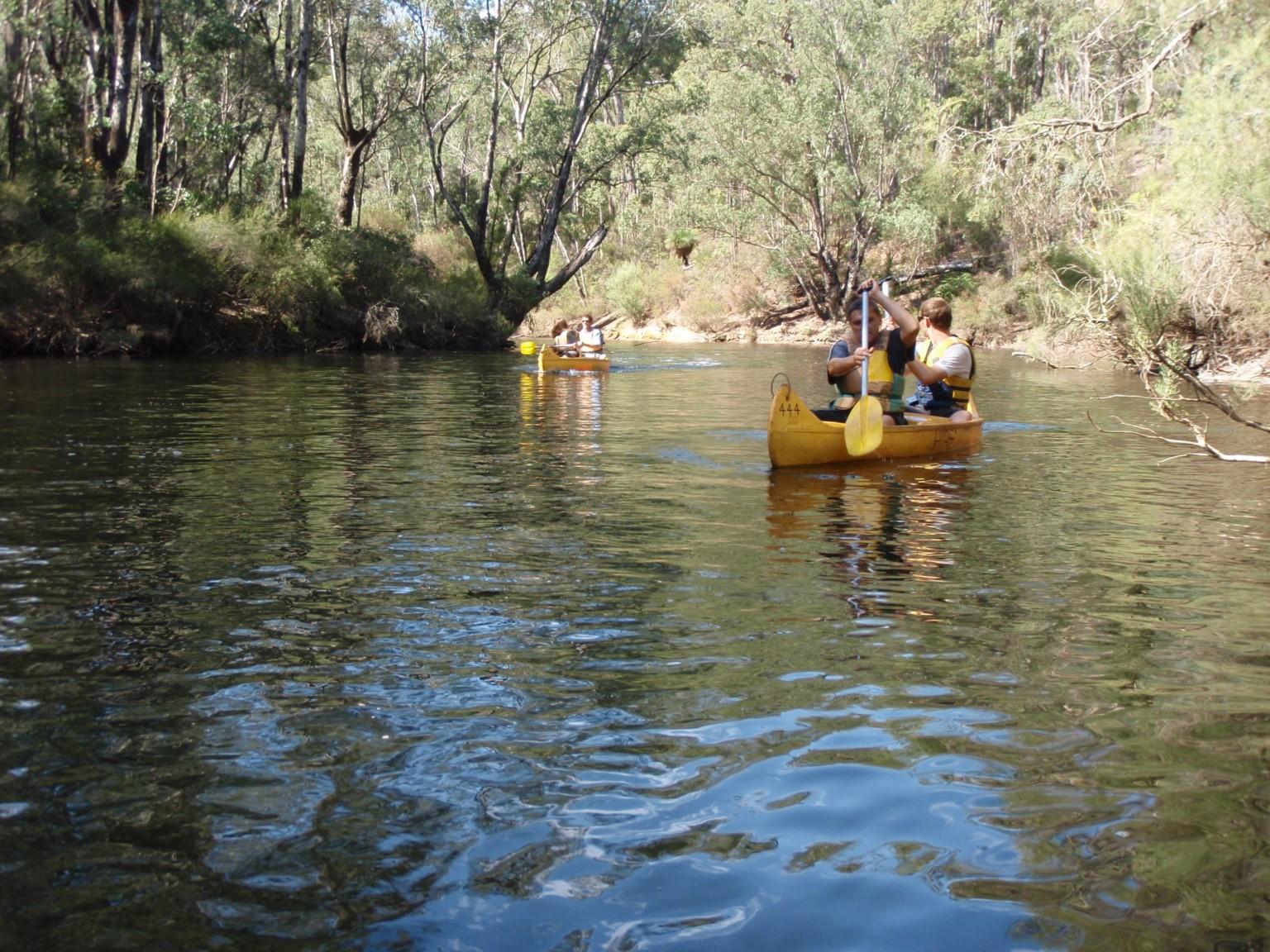 Dwellingup Canoeing