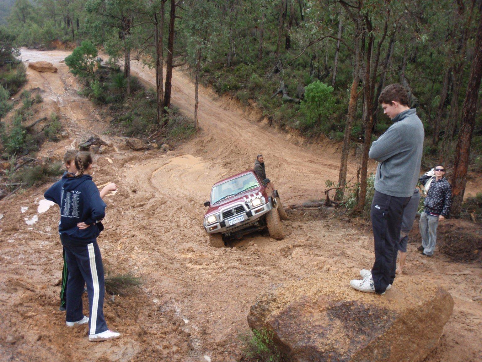 Mundaring in the Mud