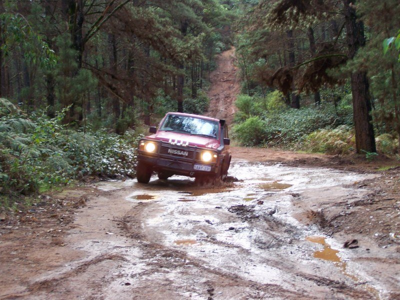 Four Wheel Driving at Dwellingup