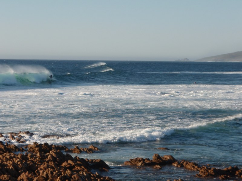 Surfing at Yallingup