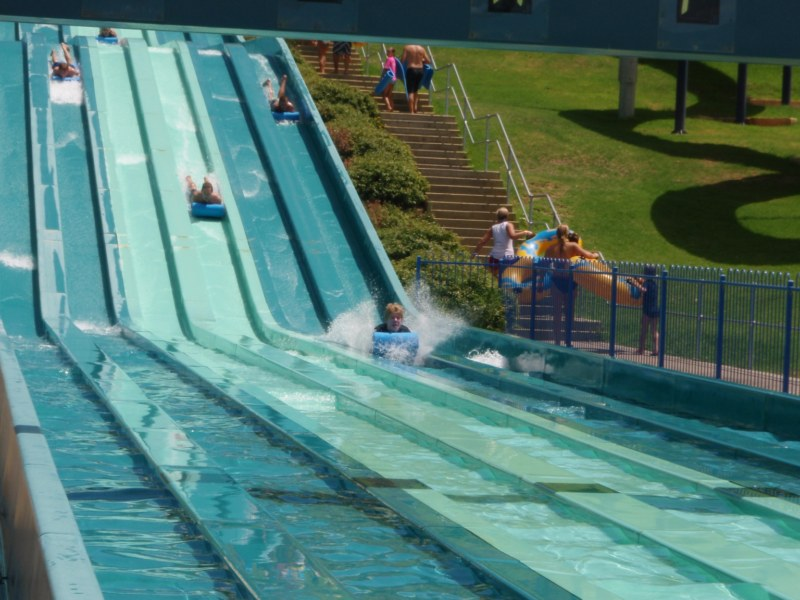 Adventure World Racing Slides