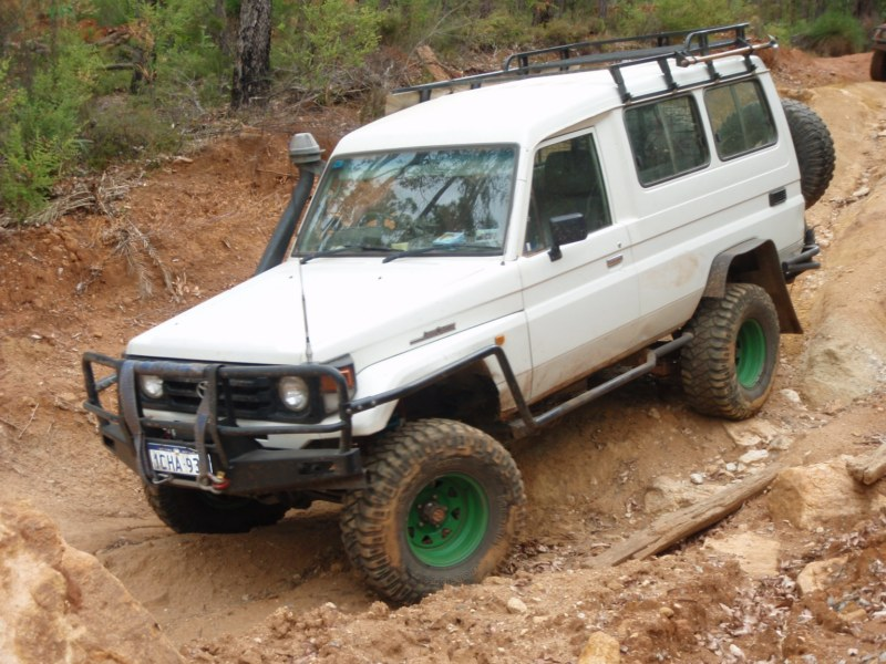 Troopy Landcruiser