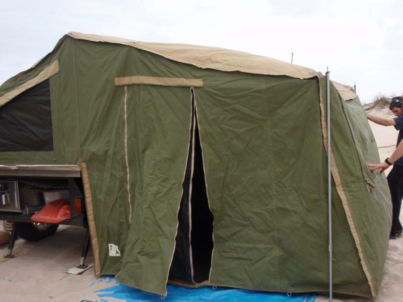 Camper Trailer Awning