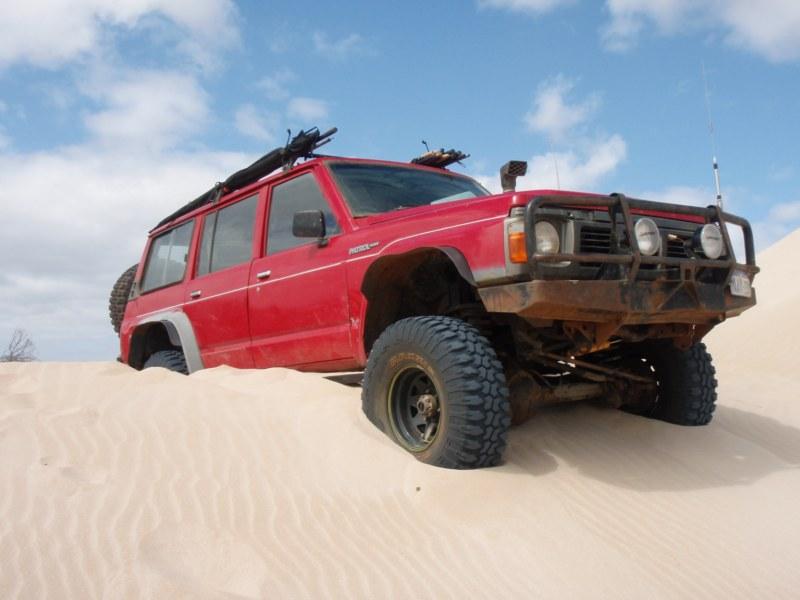 Stuck in the Dunes