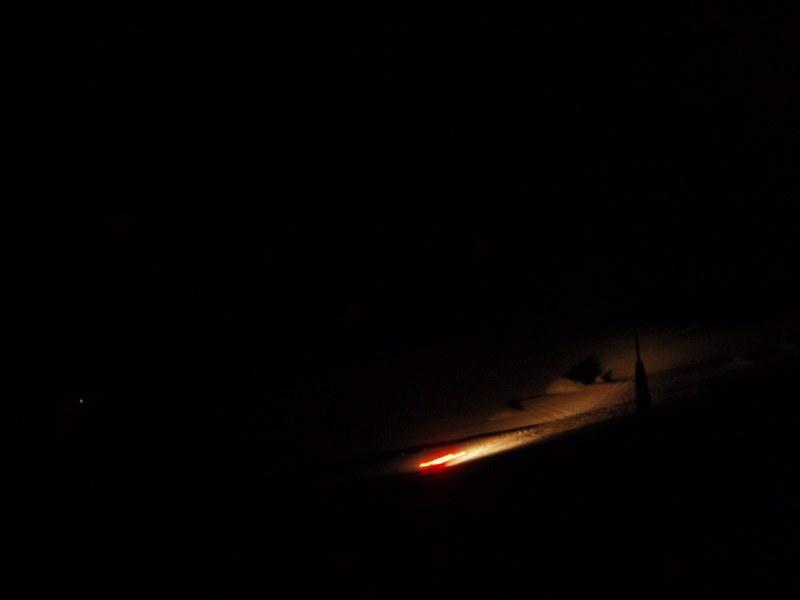 Sand Dunes at Night