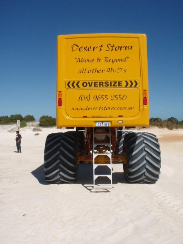 Desert Storm Monster Truck