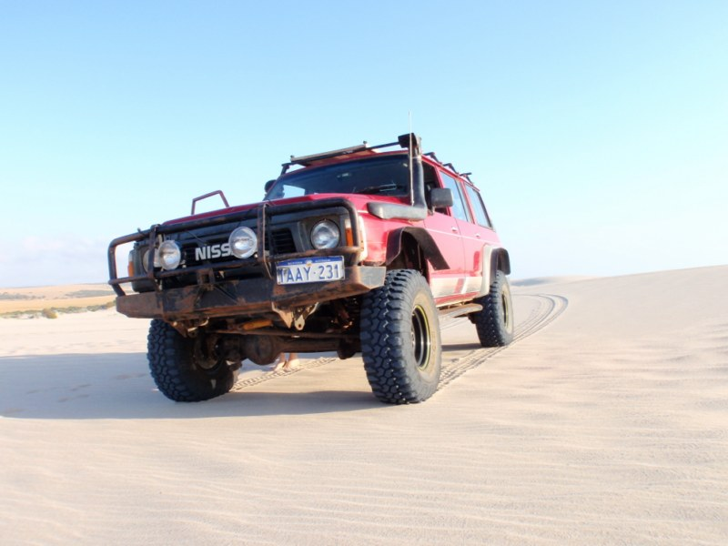 Supercharged Nissan Patrol