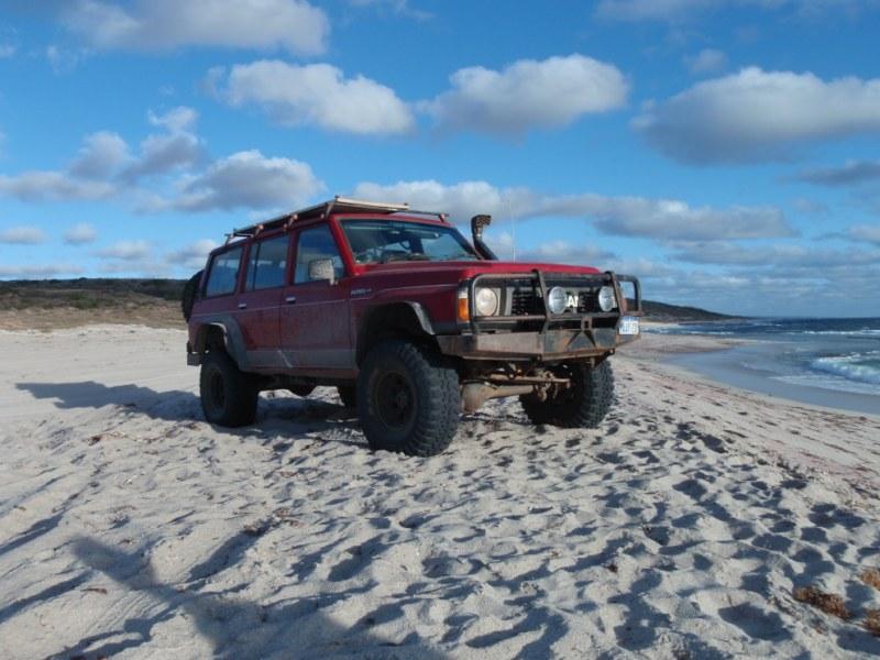 Patrol Beach Driving