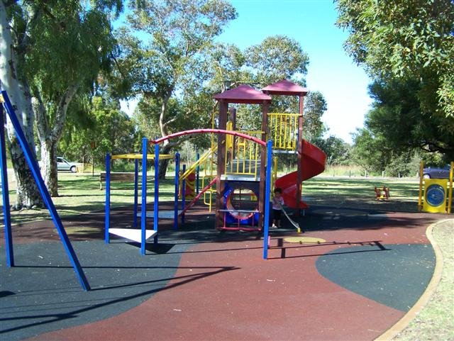 Wireless Hill Playground