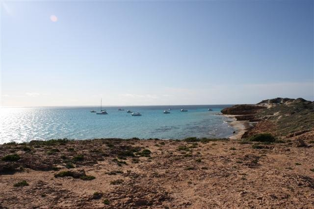 Coral Bay Boat Mooring