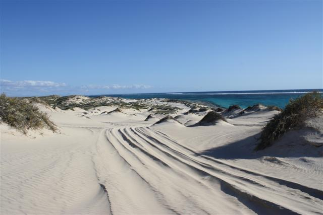 Coral Bay Sand Dunes