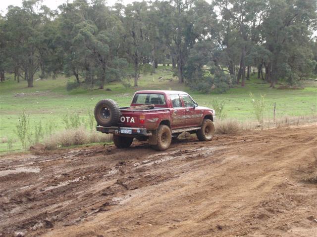 Mud Four Wheel Driving