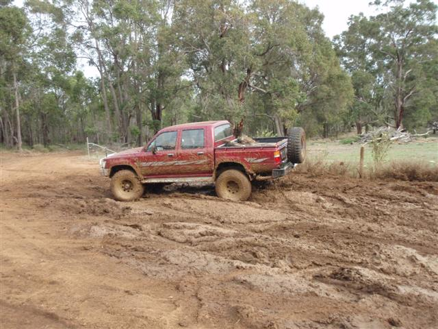 Mud 4x4 near Perth