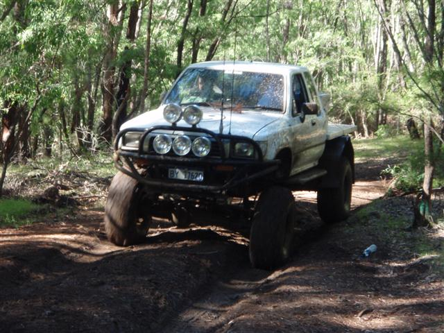 Lifted Hilux