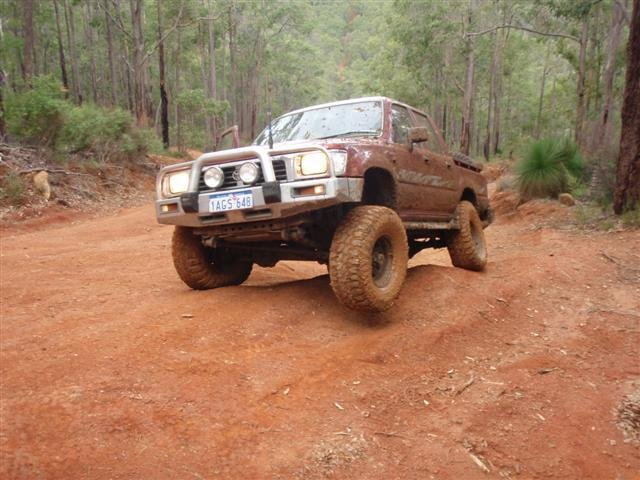 Hilux Suspension Flex
