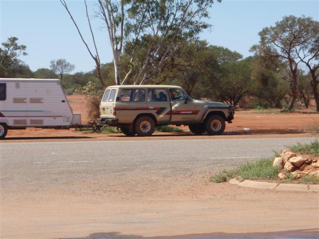 Towing a Caravan around WA