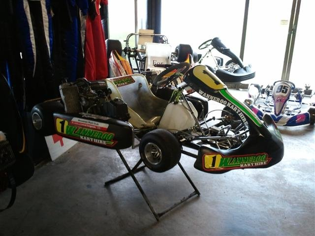 Wanneroo Karts on display