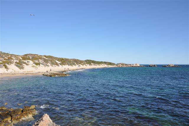 The beach at Point Peron