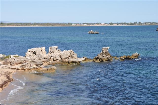 Point Peron reef formation