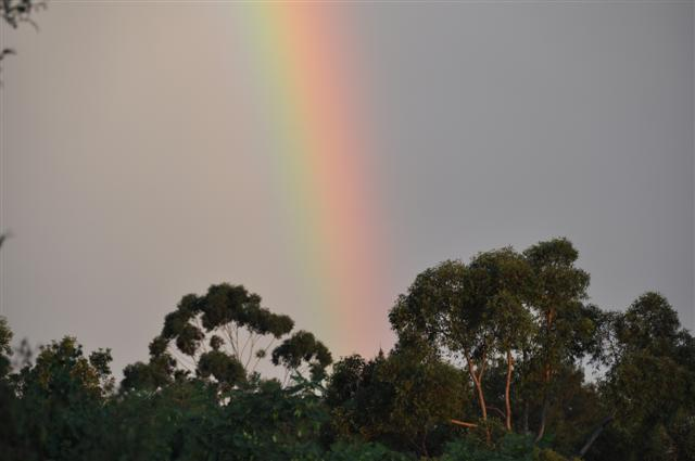 Perth Rainbow after a wild storm