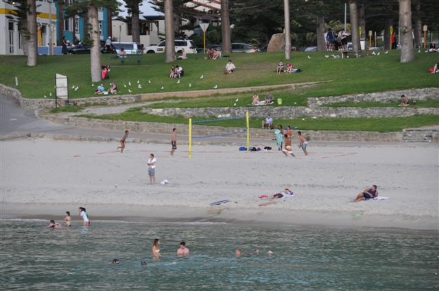 Cottesloe Beach Volleyball Courts