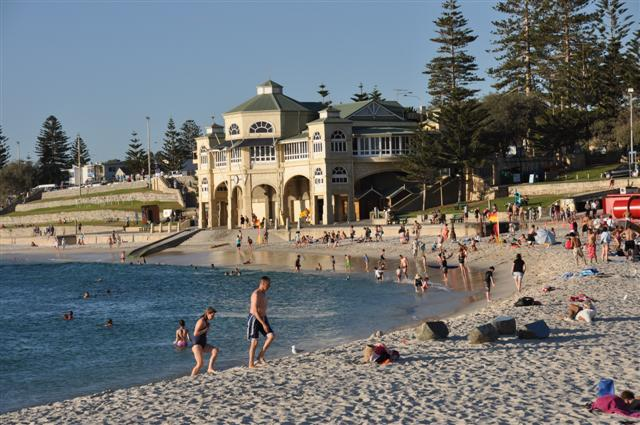 Cottesloe Beach Swimming