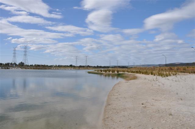 Champion Lakes shore