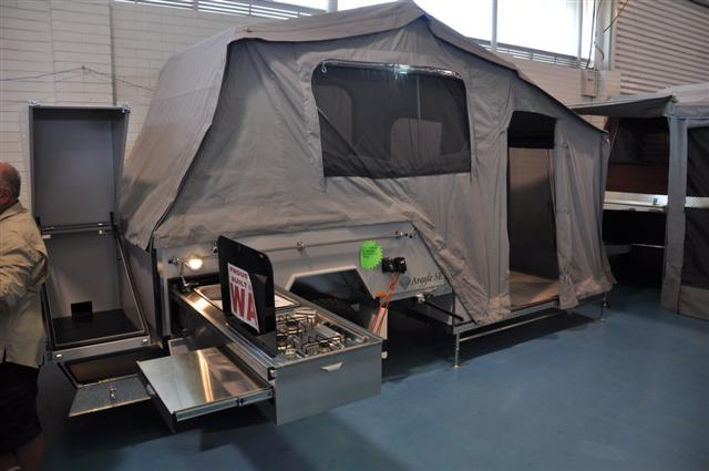 Solid Floor Camper Trailer Options
