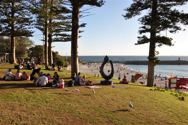 Summer at Cottesloe Beach