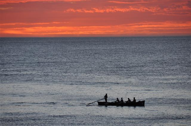 Rowing at Cottesloe