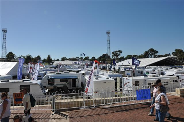A Massive Caravan and Camping Show for 2011