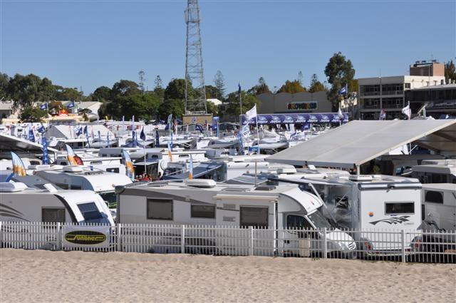 Plenty of Caravans at