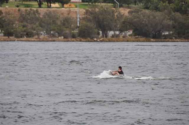 Wakeboarding at Deep Water Point