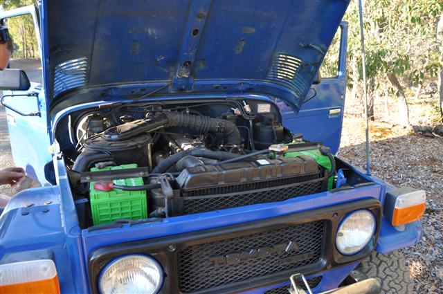40 series under the bonnet
