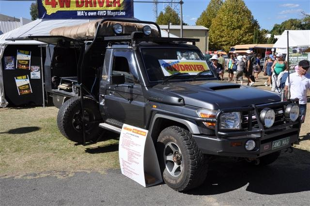 Modified Land Cruiser