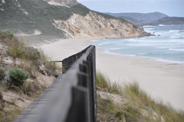 Wild coastline in WA