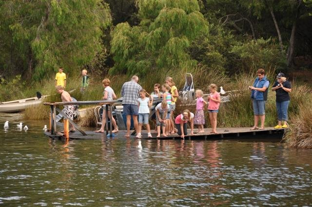 Fishing in Walpole Estuary