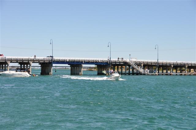 Garden Island groin bridge