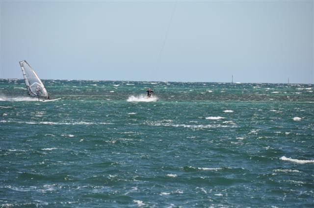 Windsurfing at Rockingham WA
