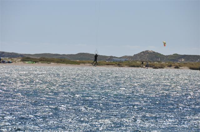 Kite Surfing jump at Rockingham