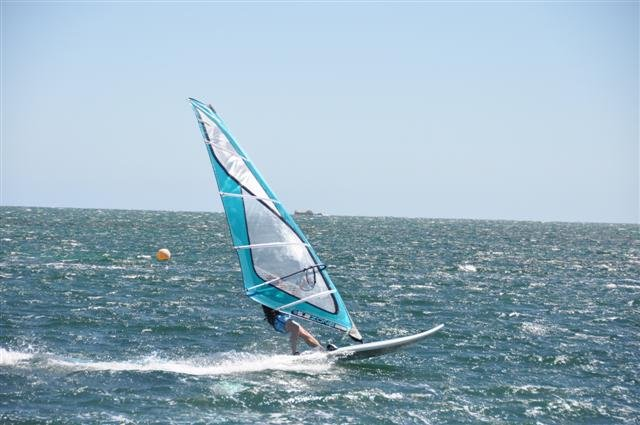 Windsurfing at Rockingham
