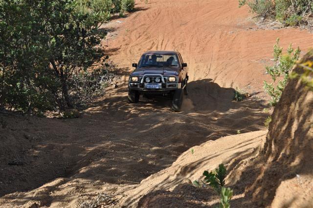 Gravel hill climbs in Perth