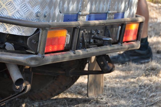 40 Series rear bar
