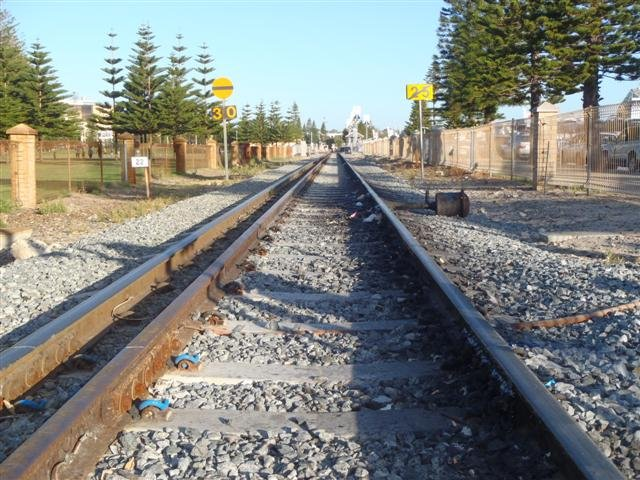 Fremantle Train Tracks