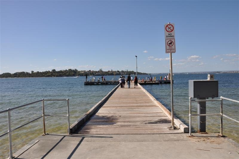 A Jetty at the Swan River