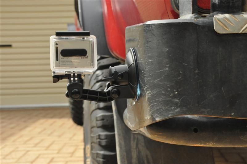 Four Wheel Driving with a Go Pro Camera