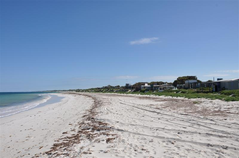 Grey Beach Front
