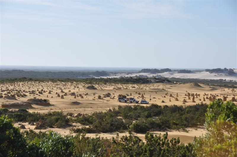 The Pinnacles and Some Sand Dunes