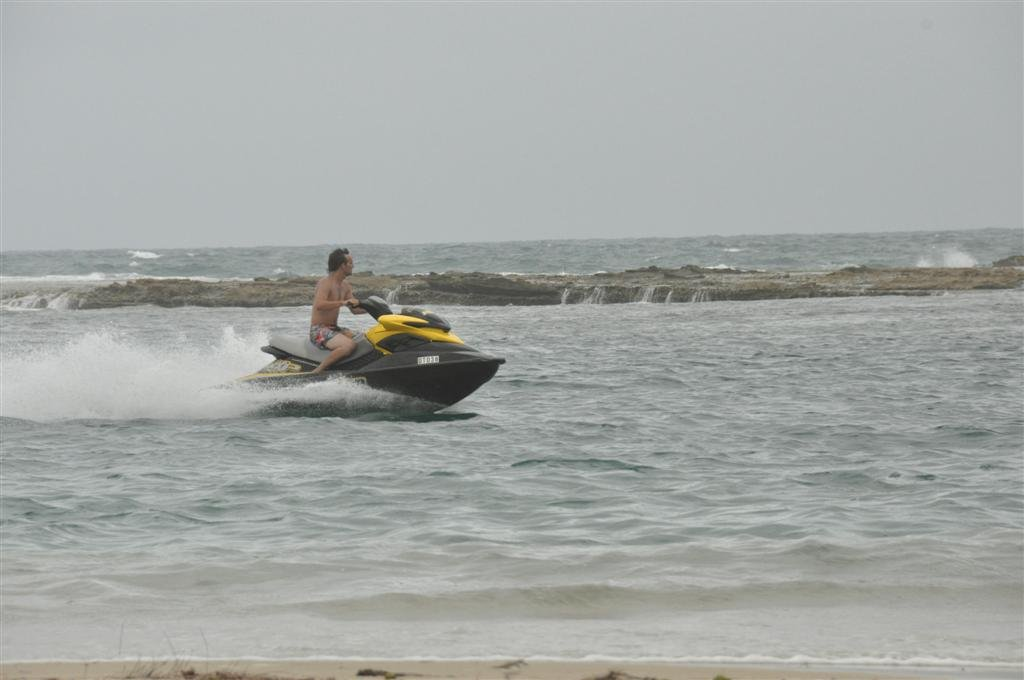A Jetski at Lucky Bay, Kalbarri